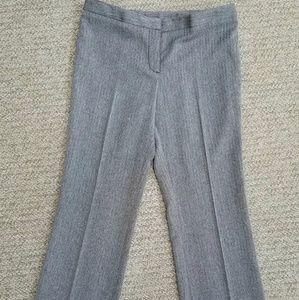 Anne Klein Petite size 10 herringbone dress pants